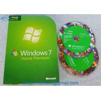 MS WIN PC System Software Microsoft Windows 7 Home Premium Upgrade 32 / 64 Bit DVDs Manufactures