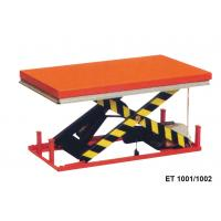 1000 Kg Vertical Electric Motorcycle Lift Table Mini Scissor For Cargo Manufactures