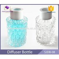 China 40 ml Round Glass Reed Diffuser Bottles Mason Jars With Color Painted on sale
