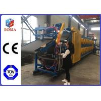 Full Automatic Rubber Sheet Cooling Machine , 380/50Hz Rubber Batch Off Machine