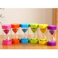 OEM Sand Clock 1min 5min 4min 30s Kid-friendly Tooth Brushing Holder Minute Sand Timer Manufactures