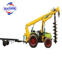 Low cost of hole tree planting digger machine for sale Manufactures