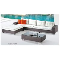 4 piece -Outdoor rattan sectional sofa garden furniture project sofa chair L/I shape sofa-9131 Manufactures
