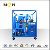 High Vacuum Transformer Oil Purifier Dehydration With Roots Fixing Type With Four Wheels Manufactures
