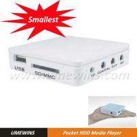 Portable HDD Player (Model#HD-U244) Manufactures