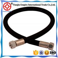 China Factory supply DIN SAE EN 853 Steel Wire Spiraled Hydraulic Hose Rubber Hose Assembly with fitting on sale