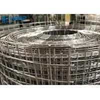Stainless Steel Welded Wire Mesh Panels Roll Rust Proof Rectangular Hole Shaped Manufactures