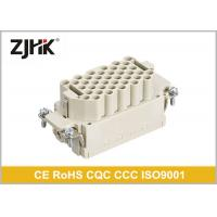 16 Amp 40 Pin Heavy Duty Rectangular Connector With Glass Fibre Reinforced PC Manufactures