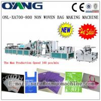 ONL-XA700-800 Popular high speed non woven box bag making machines price Manufactures
