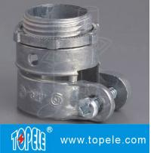 Zinc Die Cast Flexible Conduit And Fittings Durable Quick - Snap Connector Manufactures