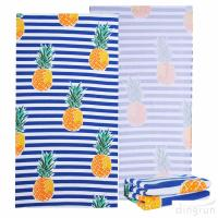 China Ultra Soft Super Water Absorbent Microfiber Beach Towel Large Blanket on sale
