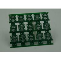 RoHS HASL 4 Layer Rigid PCB Board Fabrication Finish Green Solder Mask Manufactures