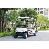 CE Approval White Color 6 Passenger Golf Carts Electric Mini Car With 2 Reverse Seats Manufactures