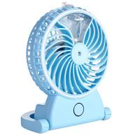Portable Mini Portable USB Fan , Small Rechargeable Fan Long Service Time Manufactures