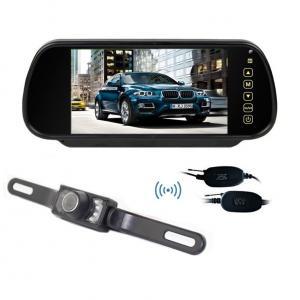 Wireless 7 Inch LCD 12V Night Vision Wireless Car Reversing Camera System Rearview Camera