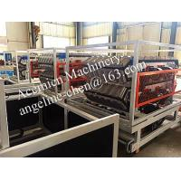 China 880MM/1050MM PVC glazed roof tile forming machine on sale