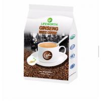 Quality instant white ginseng coffee powder for male enhancement coffee male sex enhancement product for sale