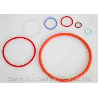 China O Shape Anti Shock Silicone O Ring , Silicone Seals And Gaskets 1/2' 1 2 3 4 on sale