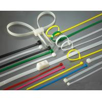 High Load PA66 Material Nylon Zip Ties Self-Locking Type UV Stabilized Manufactures