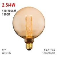 Quality G125 Bulb, Deco Bulb, E27 LED Bulb, Fashionable Glass Bulb, Energy Saving Lamp for sale