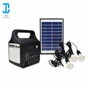 Multi - Function Solar Panel Light Kit Solar Home Lighting Kit Lithium Battery Manufactures