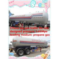 hot sale 17 metric tons double BPW/FUWA axles lpg gas tank trailer, best price 17tons propane gas tank semitrailer Manufactures