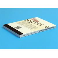 Softcover Book Novel Book Printing Services , Glue Sewing Binding By Automatic Binder Manufactures