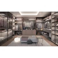 New Metal Plate Wardrobe Step-in Cloakroom Fashion and Environmental Wardrobe Manufactures