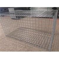 Professional Custom Gabion Wire Mesh , Silver Wire Cage Retaining Wall Manufactures