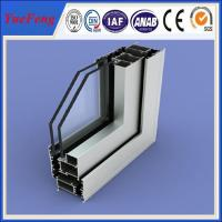 All kinds of surface treatment aluminum profile for windows and doors Manufactures