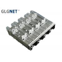 Female Gender SFP Cage Connector 1x4 10G Ethernet Press Fit Without Heat Sink Manufactures