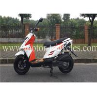 Quality Drum Brake Air Cooled Motorcycles Scooters 150CC , Gas Motor Scooters For Adults for sale