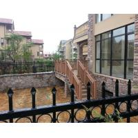 Environmental protective solid WPC railing with High impact resistant Manufactures