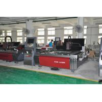 Alloy Steel / Carbon Steel Laser Cutting Machine High Stiffness Water Cooling Way Manufactures