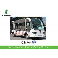 Buy cheap Enpower Controller 11 Seater Electric Sightseeing Car For Resort 7.5KW AC Motor from wholesalers