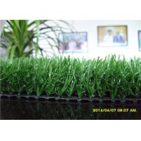 50mm Soccer Artificial Grass Synthetic Lawn Turf For Football Filed , Green Color Manufactures