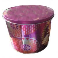 China biscuit cookie tin box OEM manufacturer China on sale
