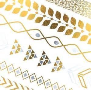 Gold Metallic Temporary tattoo Manufactures