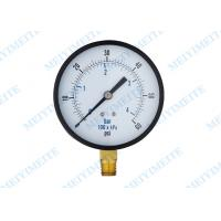 100mm Bottom hydraulic pressure gauge with brass internals with 1/4 connector Manufactures