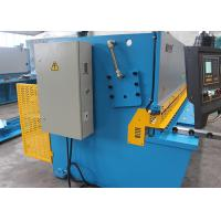 NC Hydraulic Swing Beam Shearing Machine With 32mm Sheet Metal Cutting MS7-32X2500 Manufactures