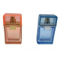30ml Clear Perfume Bottles , Personalised Glass Perfume Spray Bottle With Sprayer Manufactures