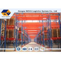 CE / ISO Factory Storage Metal Heavy Duty Pallet Racking Coordinated With Handling Equipment Manufactures