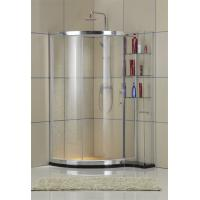 Customizable Outside Shelf Glass Shower Doors Qudrant one Sliding Tempered Glass Manufactures