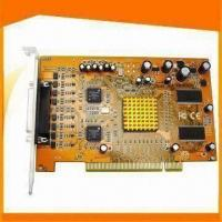 8CH H.264 Compression Basic Edition Hybrid DVR Card with PTZ Control Manufactures