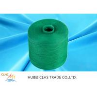 Green Polyester Dyed Yarn 50 / 2 ,  Eco - Friendly Polyester Twisted Yarn Good Evenness Manufactures