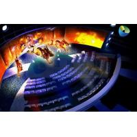 Customized High Definition 5D Cinema Equipment With Curved Screen Manufactures