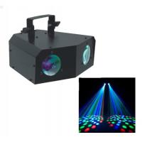 Quality 2 Eye DJ Stage Lights 3 Channel DMX-512 Led Effect Light / Chrismas Decoration for sale