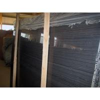 A Quality Natural black wood Marble flooring Marble Tile Manufactures
