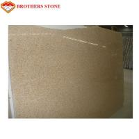 China G682 granite Kitchen Countertops , Cut To Size Rusty Yellow granite Countertops on sale