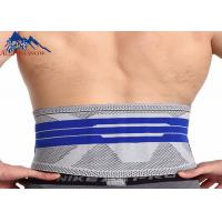 Professional High Quality Sport Waist Belt Knitting Safety Back Support Waist Slimming Belt Manufactures